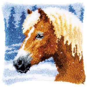 Vervaco Vervaco Knoopkussen Paard in de Sneeuw 0178555