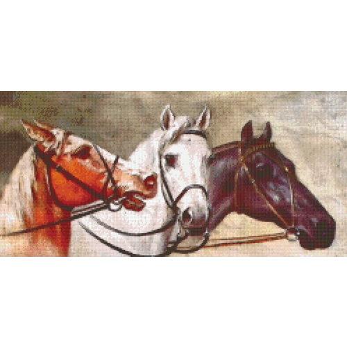 PixelHobby Pixelhobby patroon 5590 Drie Paarden