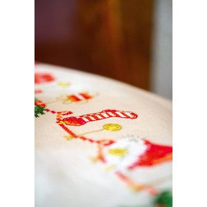 Vervaco Vervaco tafelkleed Kerstmotiefjes 0158093