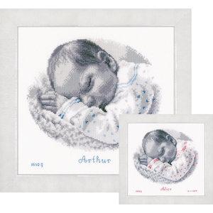 Vervaco Vervaco Geboortetegel Slapende Baby 0169612