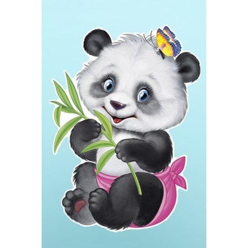 Wizardi Diamond Painting Kleine Panda WD2368
