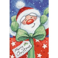 Diamond Painting Santa with Gifts WD2435