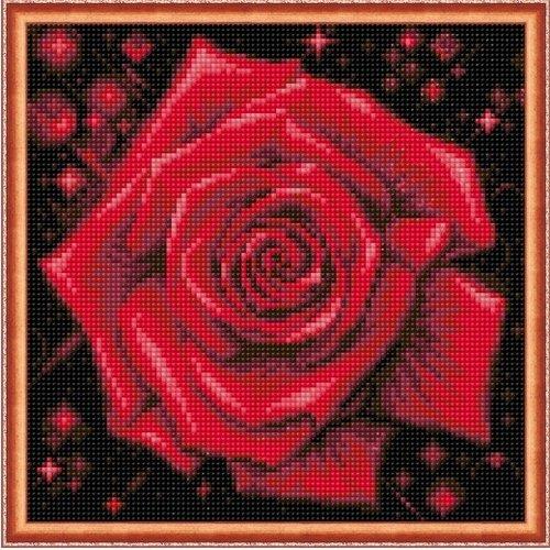 Artibalta Diamond Painting Sparkling Rose AZ-1785