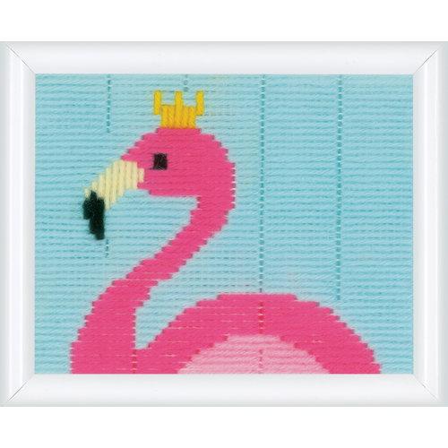 Vervaco Vervaco Spansteek pakket Flamingo 0179578