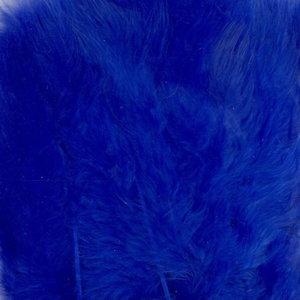 Marabou veren cobalt blauw  8,5-12,5 cm 15 stuks