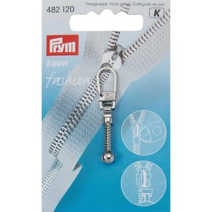 Prym Prym Fashion-Zipper Knots Zilver
