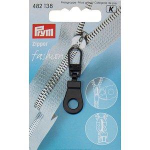 Prym Prym Fashion-Zipper Ring Zwart