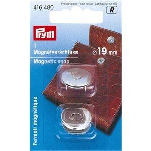 Prym Prym Magneetsluiting 19 mm Zilver 2 stuks