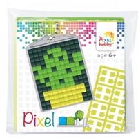 Pixelhobby medaillon startset cactus 23026