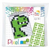 Pixelhobby medaillon startset dino 23029