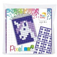 Pixelhobby medaillon startset eenhoorn 23028