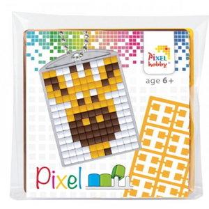 PixelHobby Pixelhobby medaillon startset giraf 23027
