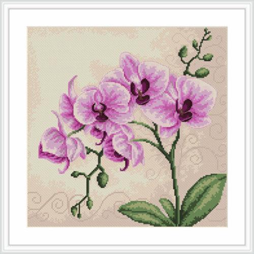 Borduurpakket bloemen
