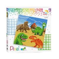 Pixel Set Dinosaurier 44019