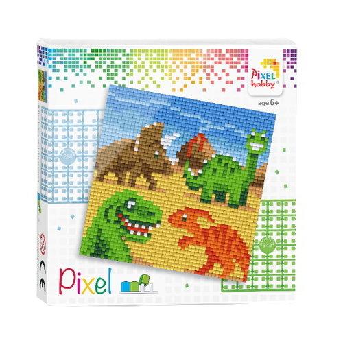PixelHobby Pixel Set Dinosaurier 44019