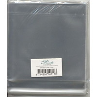 Vierkante Kaartenzakjes 15 x15 cm met plakstrip 100 stuks