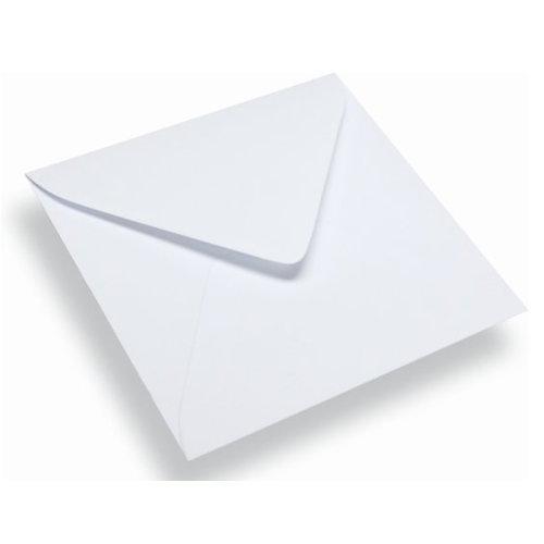 500 Witte enveloppen 140 x 140 mm 120 gram