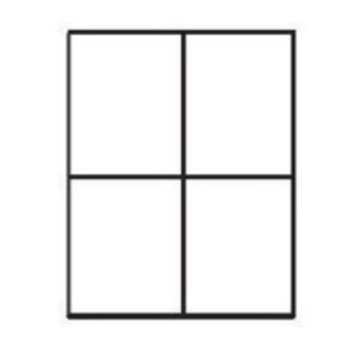 PixelHobby Pixelhobby lijst hout walnoot 2 x 2 P 2 x 2 L