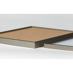 PixelHobby Pixelhobby lijst hout walnoot 4 kleine basisplaten