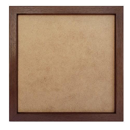 PixelHobby Pixelhobby lijst hout walnoot 1 x 1