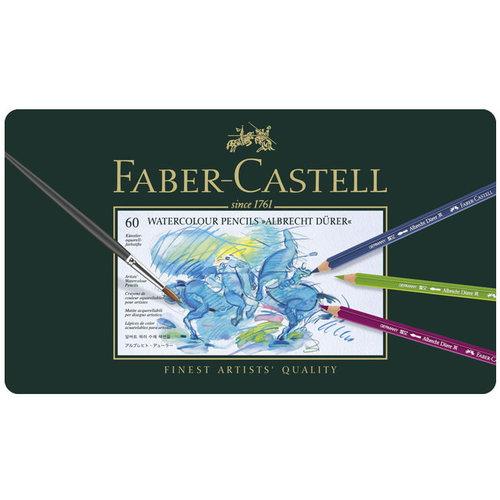 Faber Castell Aquarelpotlood Faber-Castell Albrecht Dürer etui à 60 stuks