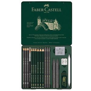 Faber Castell Grafietset Faber-Castell Pitt 19-delig