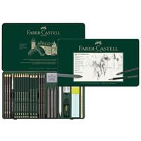 Grafietset Faber-Castell Pitt 26-delig