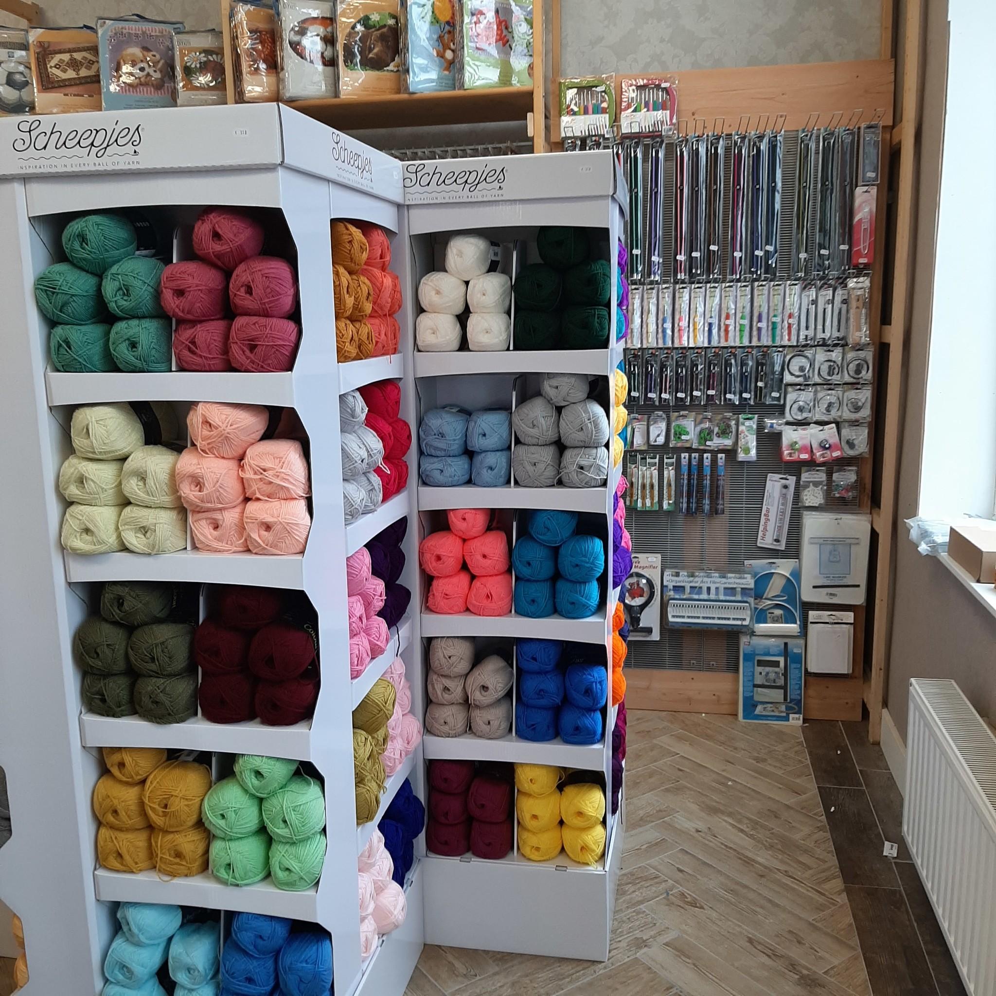 Wolwinkel Assen, Drenthe voor scheepjes wol, sokkenwol en fournituren