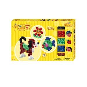 Hama Maxi strijkkralen giftbox 900 stuks 8712