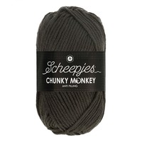Scheepjes Chunky Monkey 100 gram 2018 Dark Grey