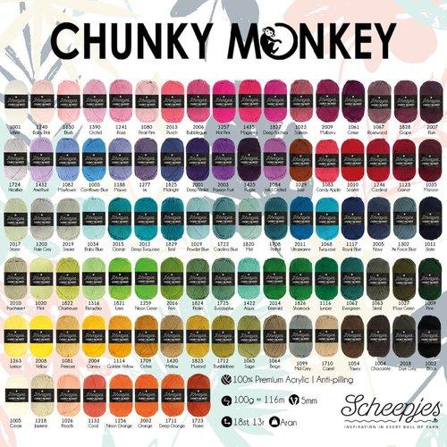 Scheepjeswol Scheepjes Chunky Monkey 100 gram 2014 Emerald