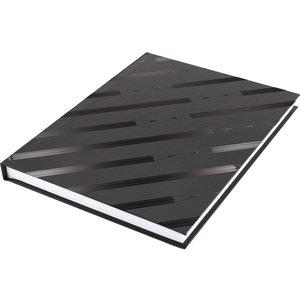 Dummyboek Kangaro A5 blanco hard cover 80 blad 140grs zwart design
