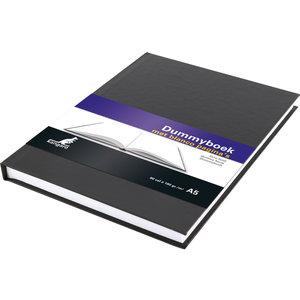 Kangaro Dummyboek  A5 blanco hard cover 80 blad 100grs zwart