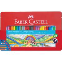 Cadeauset Faber-Castell 53-delig in metalen doos