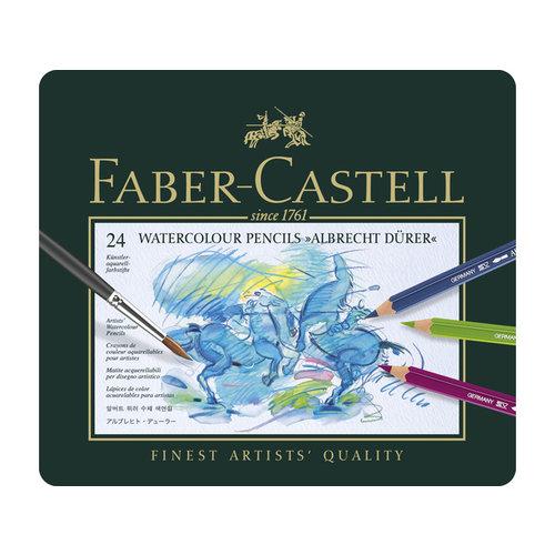 Faber Castell Aquarelpotlood Faber-Castell Albrecht Dürer etui à 24 stuks