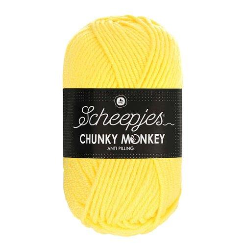 Scheepjeswol Scheepjes Chunky Monkey 100 gram 1263 Lemon