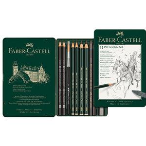 Faber Castell Grafietset Faber-Castell Pitt 11-delig