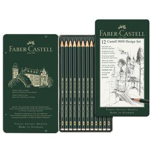 Faber Castell Potlood Faber Castell 9000 Designset