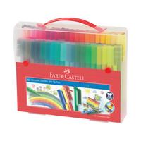 Faber-Castell cadeauset Connector koffer 80 stuks
