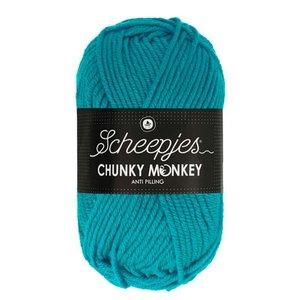 Scheepjeswol Scheepjes Chunky Monkey 100 gram 2012 Deep Turquoise