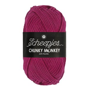 Scheepjeswol Scheepjes Chunky Monkey 100 gram 2009 Mulberry