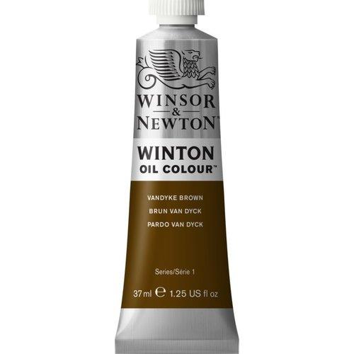 Winsor & Newton Winton olieverf 37 ml Vandyk Brown