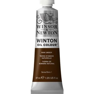 Winsor & Newton Winton olieverf 37 ml Raw Umber