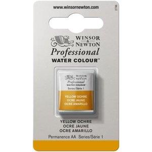 Winsor & Newton Cotman Waterverf Half Napje Yellow Ochre
