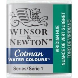 Winsor & Newton Cotman Waterverf Half Napje Viridian Hue