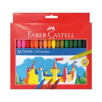 Viltstiften Faber Castell 36 stuks karton etui