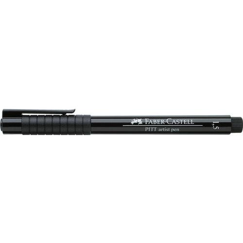Faber Castell Tekenstift Faber-Castell Pitt Artist Pen 1,5 zwart