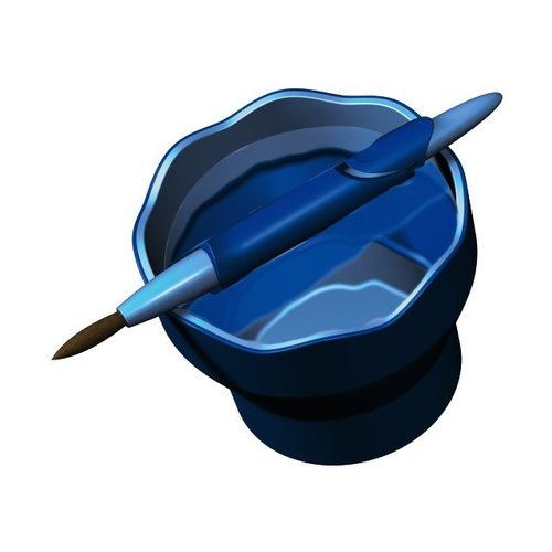 Faber Castell Faber-Castell Watercup Clic&Go blauw