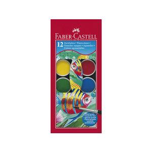 Faber Castell Verfdoos Faber Castell 12 kleuren