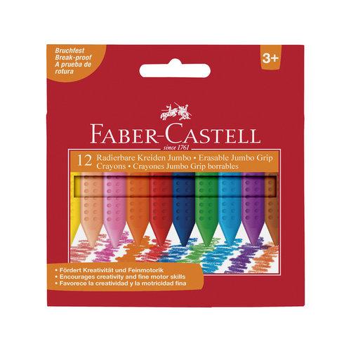 Faber Castell Krijt Faber Castell Jumbo GRIP doos 12 stuks